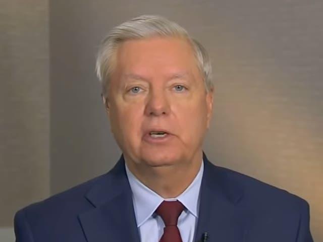 <p>Lindsey Graham le dijo a Fox News que no apoya el compromiso de reforma electoral de Joe Manchin.</p>