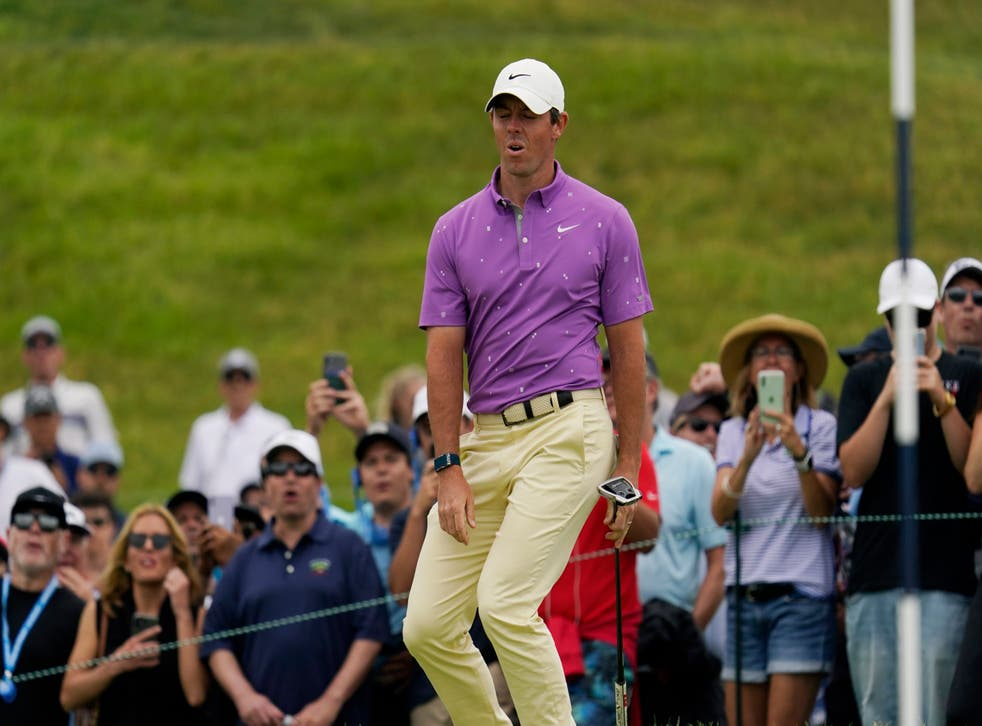 Rory McIlroy in contention down final stretch of 121st US Open at Torrey  Pines | The Independent