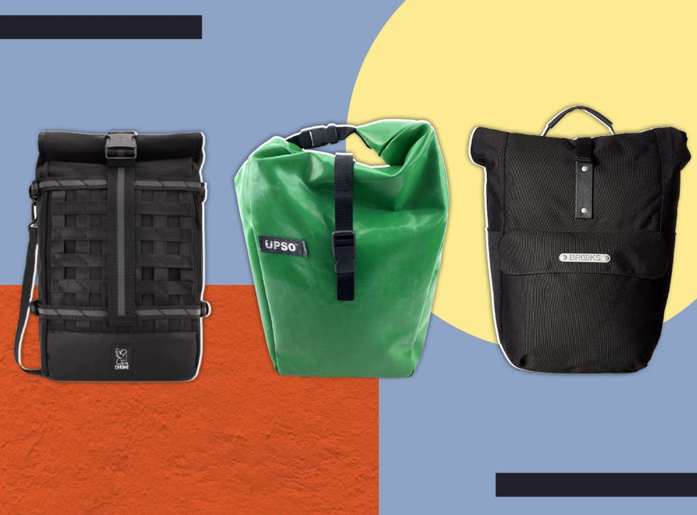 <p>The very best panniers have fittings that hold them securely but allow you to click them off and on in seconds</p>