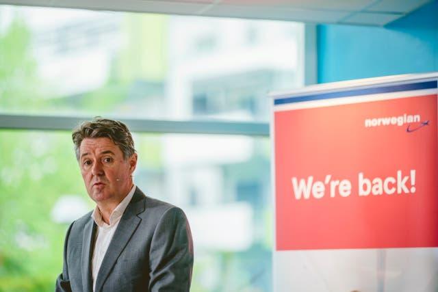 Norwegian New CEO
