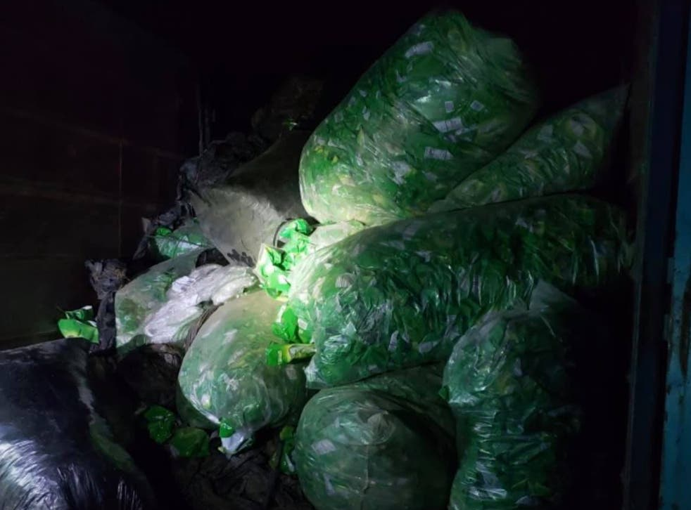 <p>Tulare County Sheriff's Office recover stolen pistachio nuts in an August 2020 raid in California</p>