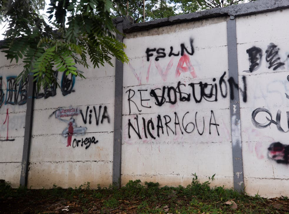 NICARAGUA-CRISIS ESCRITOR
