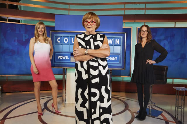 <p>New Countdown host Anne Robinson</p>