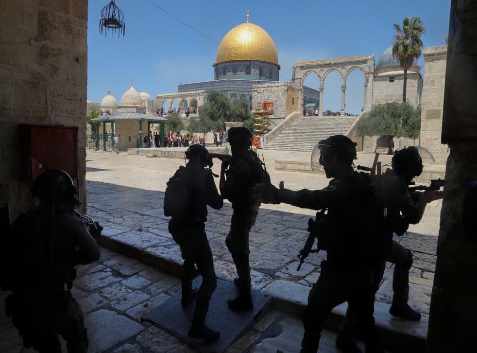 MOR-GEN ISRAEL-PALESTINOS