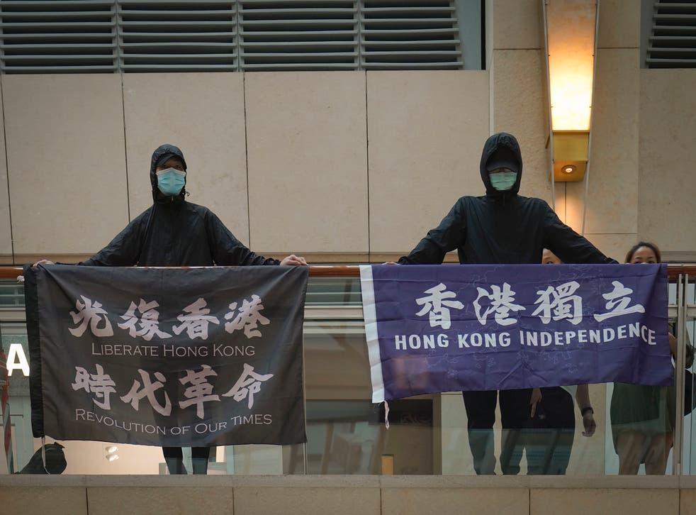 HONG KONG-SEDICIÓN
