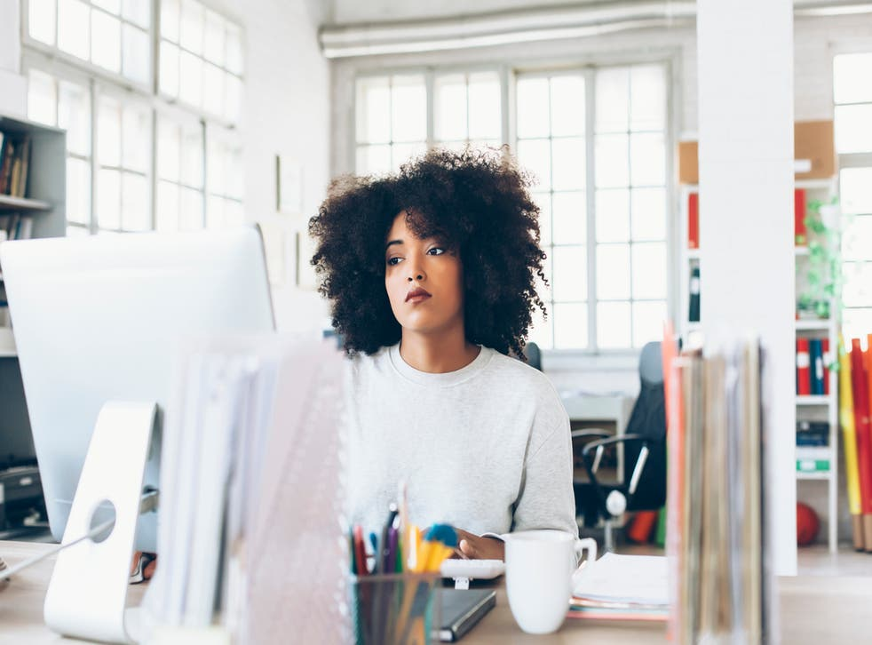 <p>According to a recent report, almost half of black office workers have experienced racism in the workplace</p>