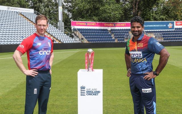 England and Sri Lanka are set for a three-match Twenty20 series (David Davies/PA)