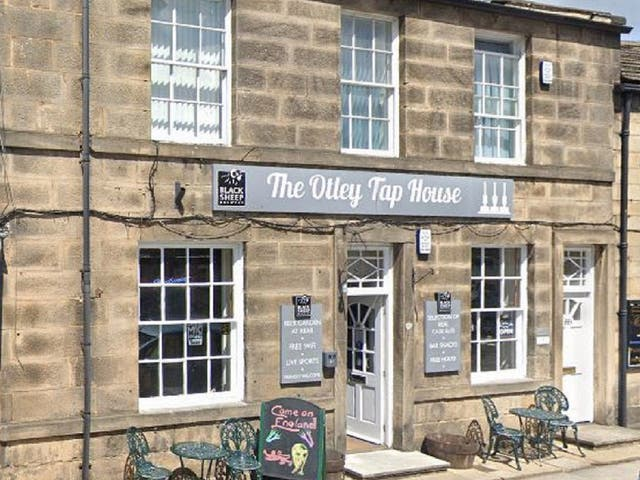 <p>The Otley Burger Company has been criticised over a Father's Day advert featuring Peter Sutcliffe and Jimmy Savile</p>