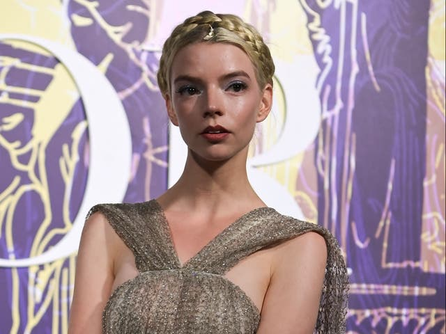 <p>Anya Taylor-Joy at a Dior fashion show in Athens, Greece, on 17 June 2021</p>