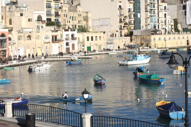 <p>Danger zone? St Julian's in Malta, which may be added to the 'green list' on Thursday </p>