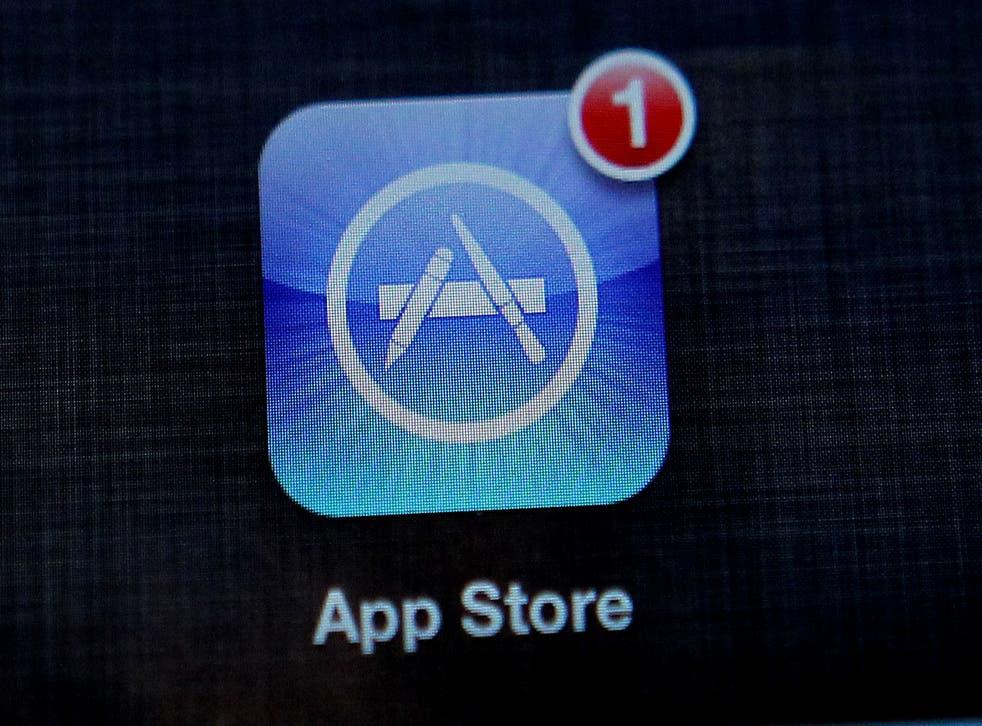 <p>The Apple App store app on an iPad</p>
