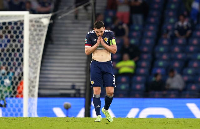 <p>Skipper Andy Robertson is determined to build on Scotland's Euro 2020 involvement</p>