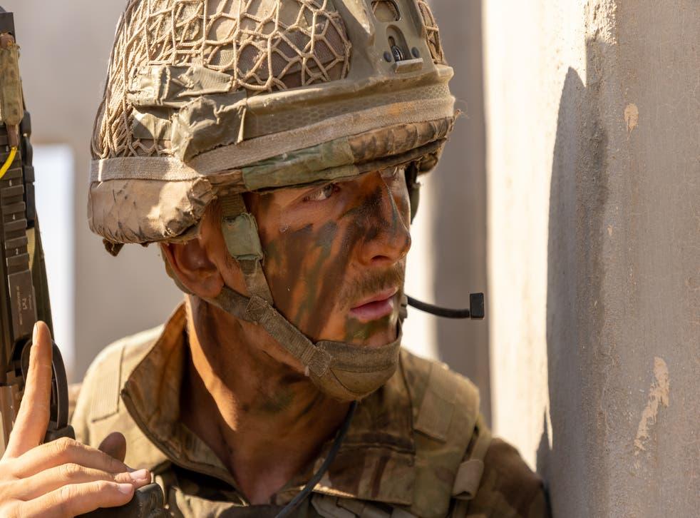 <p>Sergeant Benjamin Maher</p>