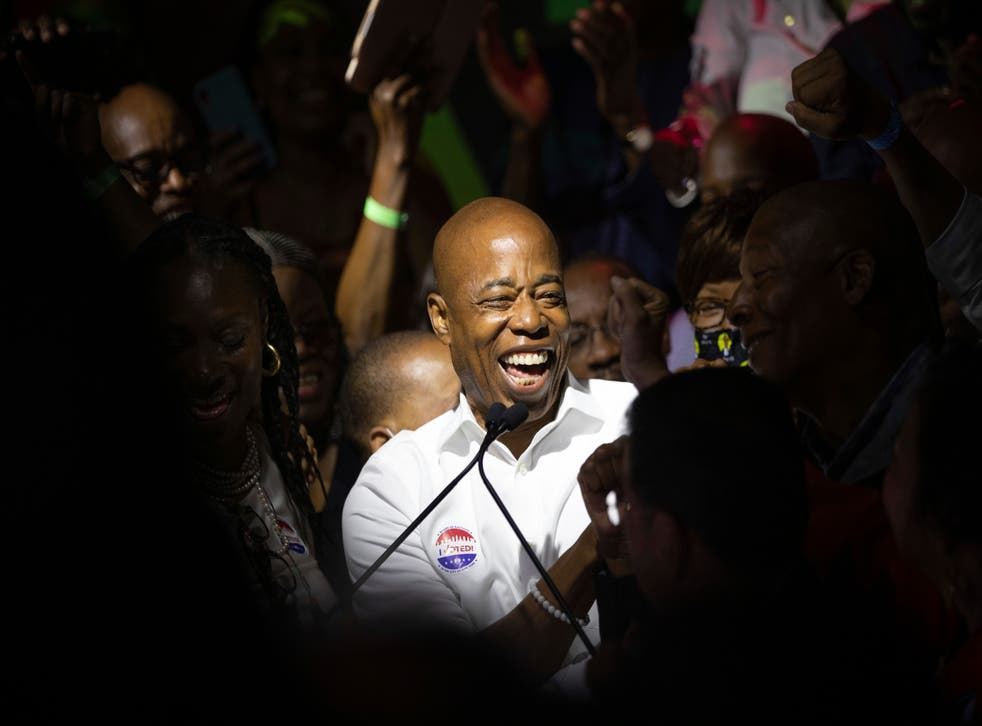 APTOPIX Election 2021 NYC Mayor