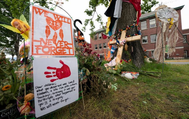 """<p>At least four Catholic churches on native land in Canada have burned down in the last week, following nationwide grief and outrage over the discovery of human remains in unmarked graves at so-called """"residential schools.""""</p>"""