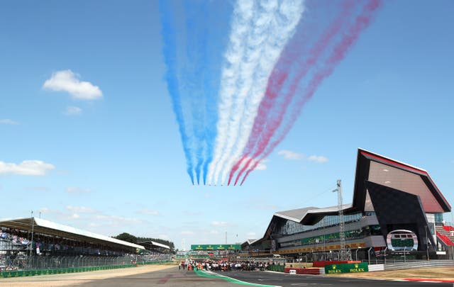 <p>The British Grand Prix is set to take place in front of a full crowd</p>