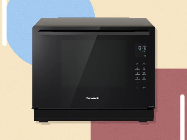 <p>This microwave promises to steam, grill, oven cook or microwave everything from frozen pizza to salmon fillets</p>