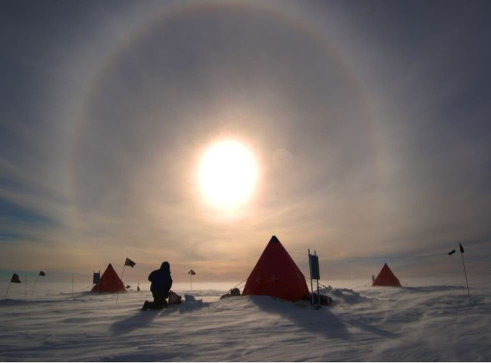 <p>Monday was Midwinter's Day in the British Antarctic Territory, which has just been added to the UK travel green list</p>
