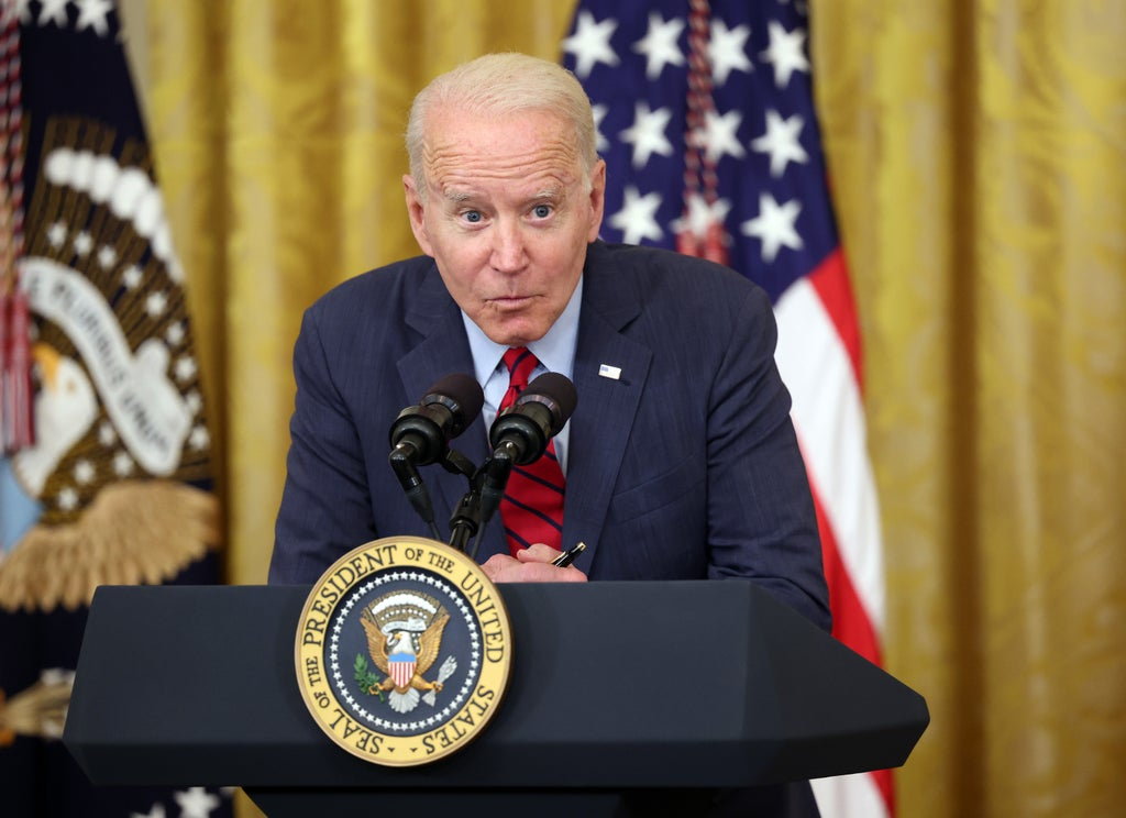 'Pay them more': Biden uses stage whisper to tell business how to fix staff shortages