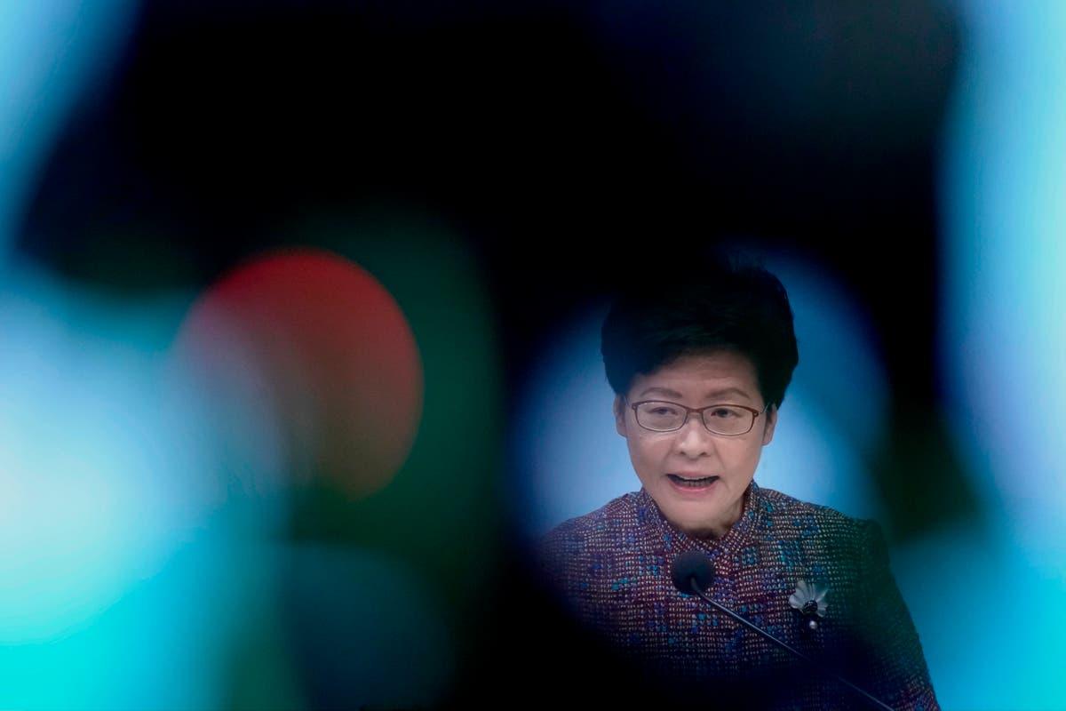 Security chief named Hong Kong No. 2 official amid clampdown
