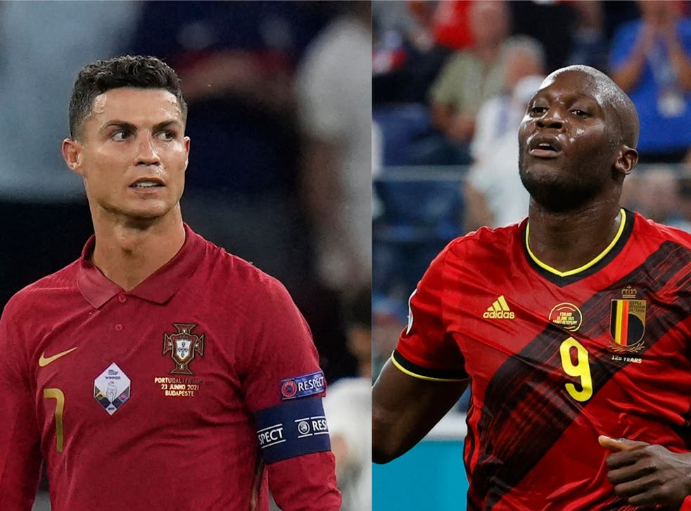 Belgium vs Portugal: Cristiano Ronaldo and Romelu Lukaku battle at Euro  2020 in compelling rivalry born in Serie A   The Independent