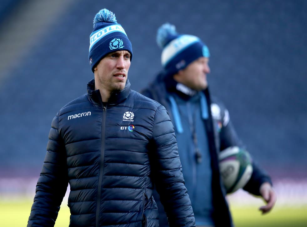 Mike Blair's plans for Sunday's clash with England A have been thrown into Covid chaos