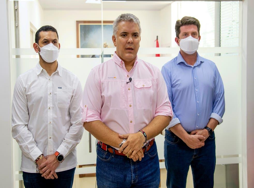 COLOMBIA-ATENTADO PRESIDENTE