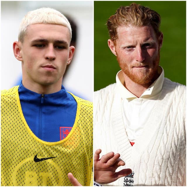 Phil Foden and Ben Stokes