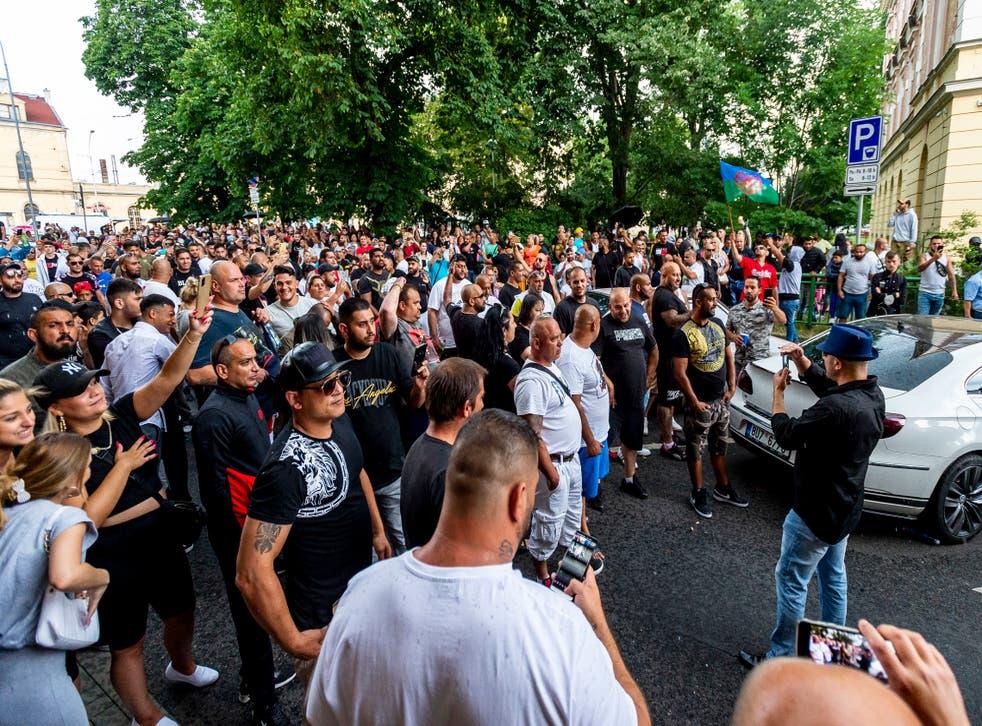 REPUBLICA CHECA-PROTESTA-MUERTE