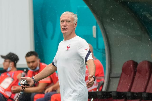 <p>Didier Deschamps warned against assuming Switzerland would be straightforward opponents for France</p>