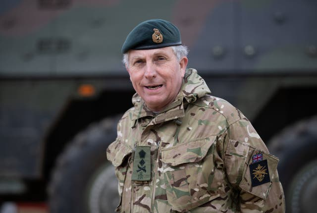 <p>Chief of defence staff, General Sir Nick Carter, tested positive for Covid after attending two events </p>