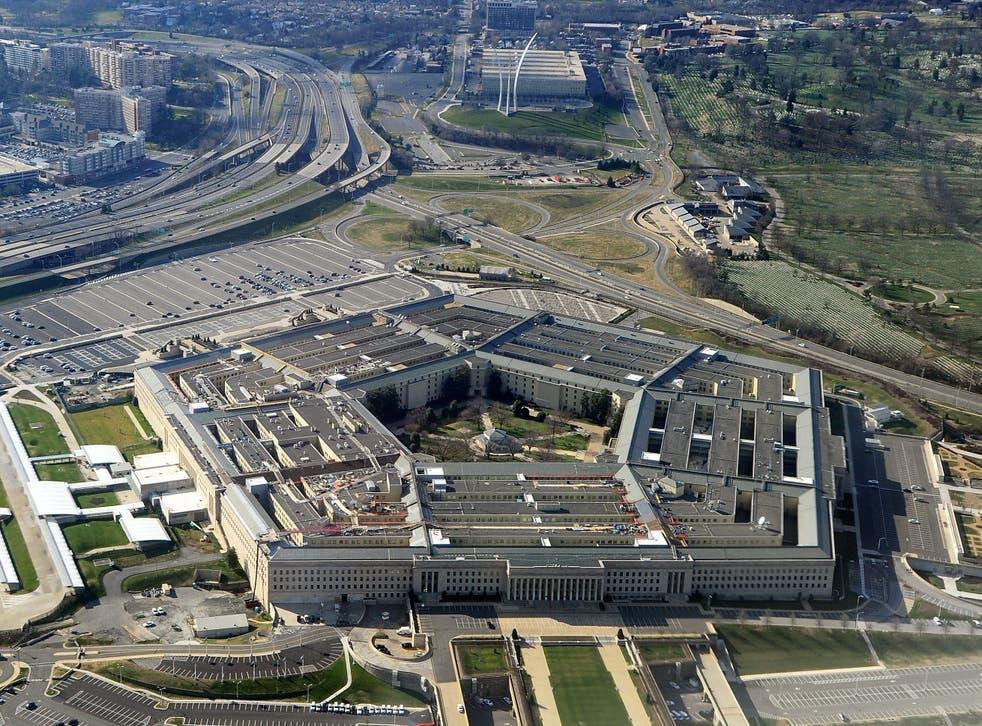 <p>The Pentagon building in Washington DC</p>