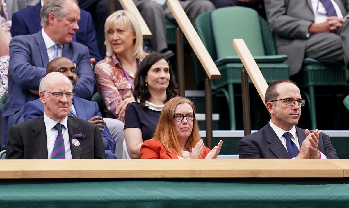 Wimbledon crowd gives standing ovation to Oxford Covid vaccine developer Dame Sarah Gilbert