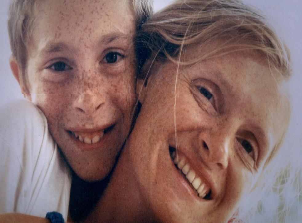 <p>'We were very close': Pierre-Louis and his mother, Sophie Toscan du Plantier</p>