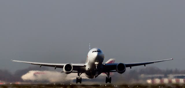 Airline and travel stocks weighed on the FTSE 100 on Monday