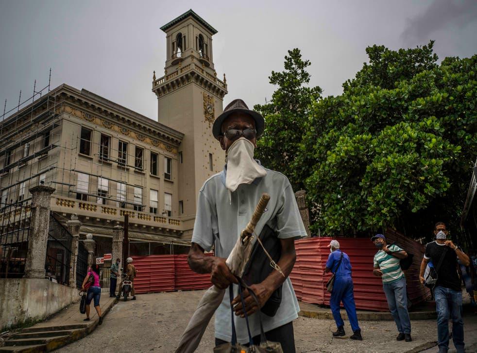 CUBA-ESTACION TRENES