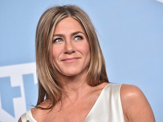 <p>Jennifer Aniston en los Screen Actors Guild Awards el 19 de enero de 2020 en los Ángeles, California</p>