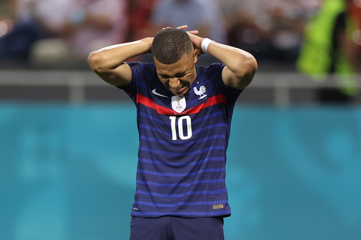 Euro 2020: Kylian Mbappe apologises for penalty miss in emotional message  to French fans | The Independent