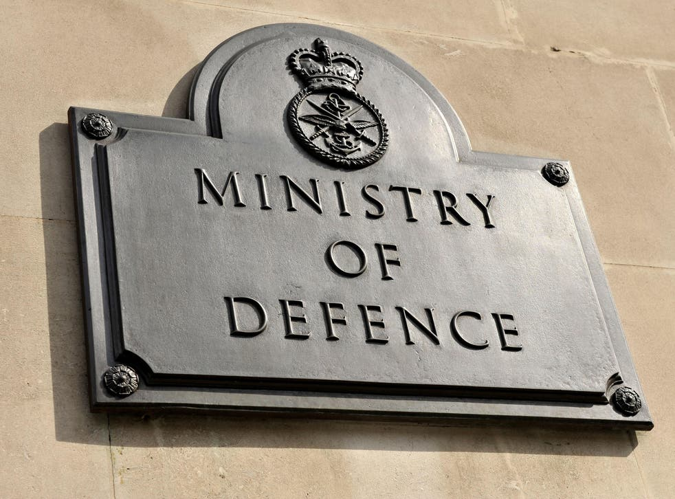 <p>The MoD is investigating how the female soldier died on Thursday</p>