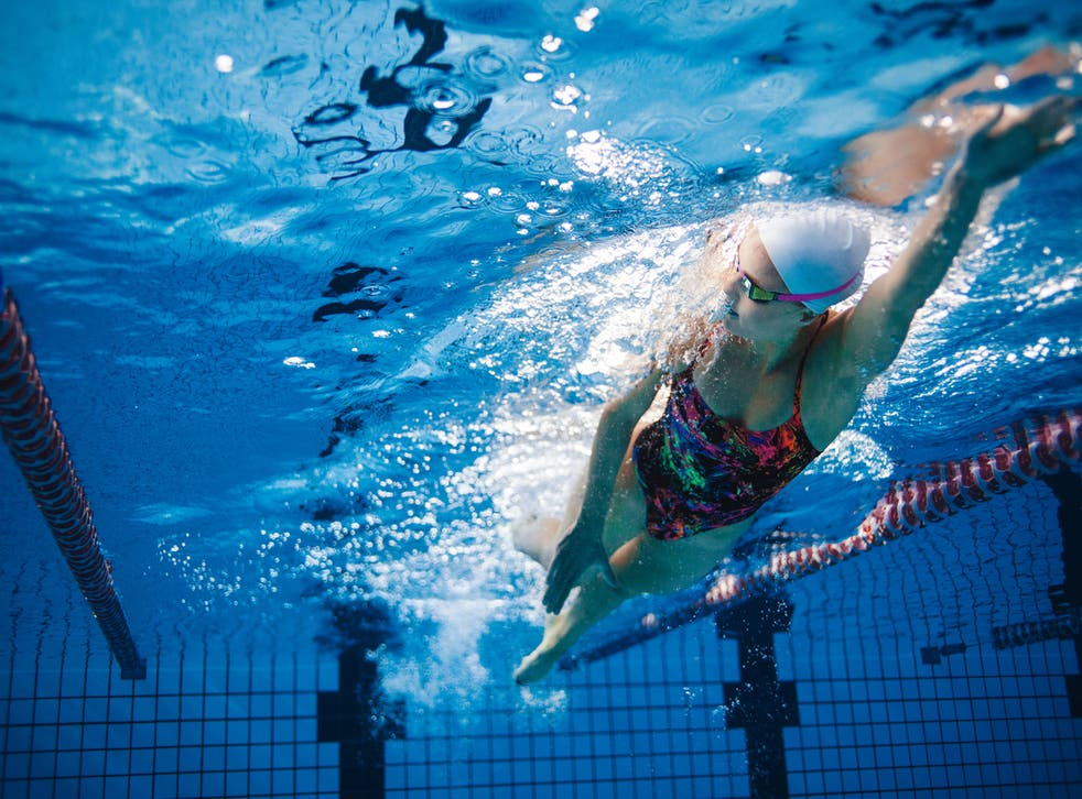 <p>'I have had my ankles grabbed after passing men in the pool. Many an angry swimmer has felt the need to tug or hit me. As a child, the violence became part of the landscape'</p>