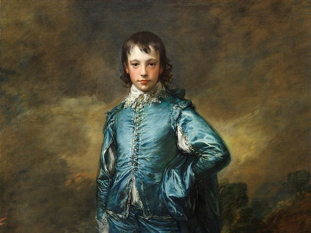 <p>The Blue Boy, painted in 1770 by Thomas Gainsborough</p>