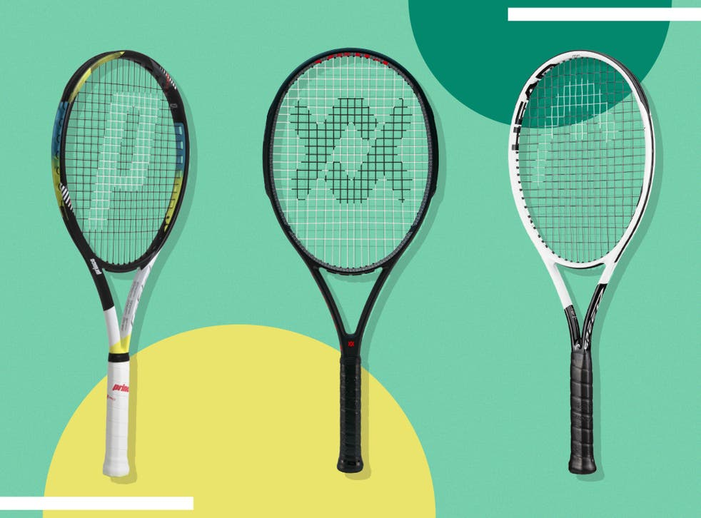 <p>Choosing a racket of around 100 sq in head size and a weight of 300g will generally offer a nice balance of control and power</p>