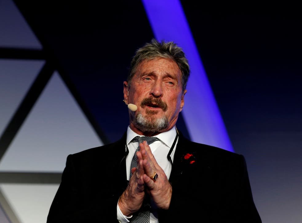 <p>John McAfee, co-founder of McAfee Crypto Team, CEO of Luxcore and founder of McAfee Antivirus</p>