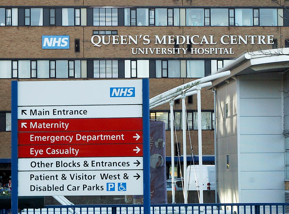 <p>Nottingham University Hospitals Trust has been given a warning by the CQC </p>