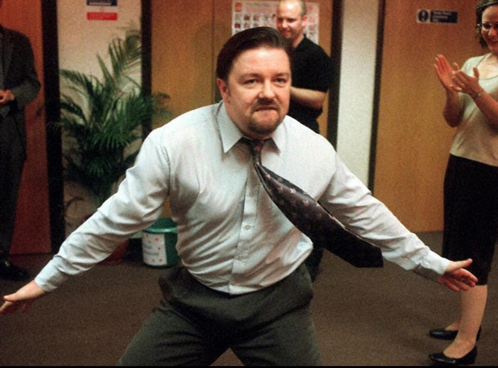 <p>Gervais's comedy character David Brent was always tying himself into knots of political correctness </p>