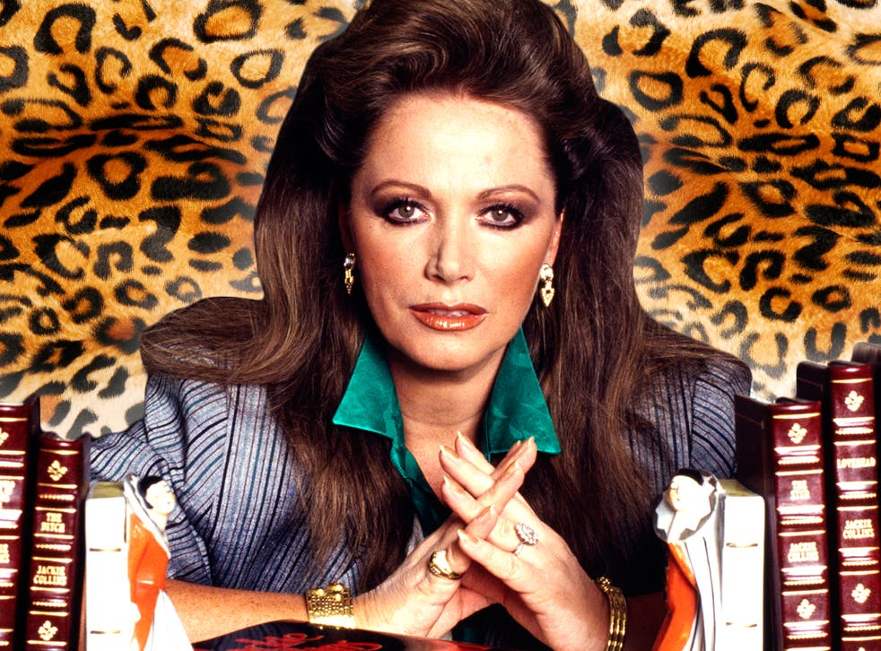 <p>A sexed-up cartoon character whose talk-show interviews were as sought after as her manuscripts: Jackie Collins in 1998</p>