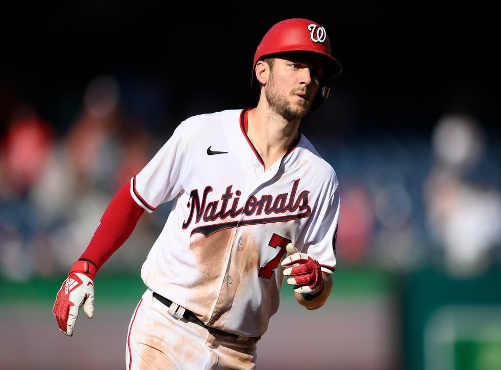 Rays Nationals Baseball