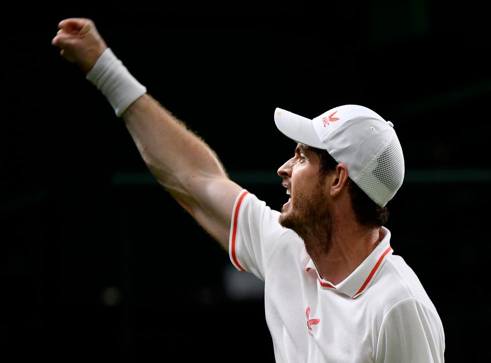 <p>Andy Murray won a second-round game lasting nearly four hours</p>
