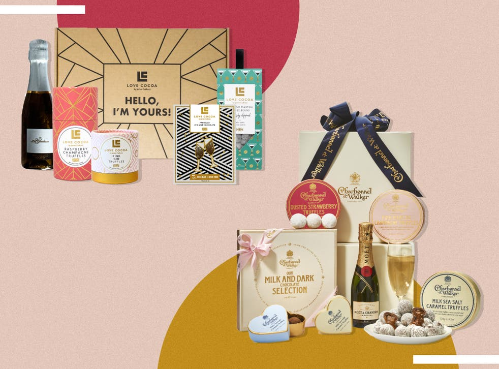 <p>There's one to suit every taste from more family-orientated options including hot chocolate and biscuits to lavish hampers of gourmet chocs</p>