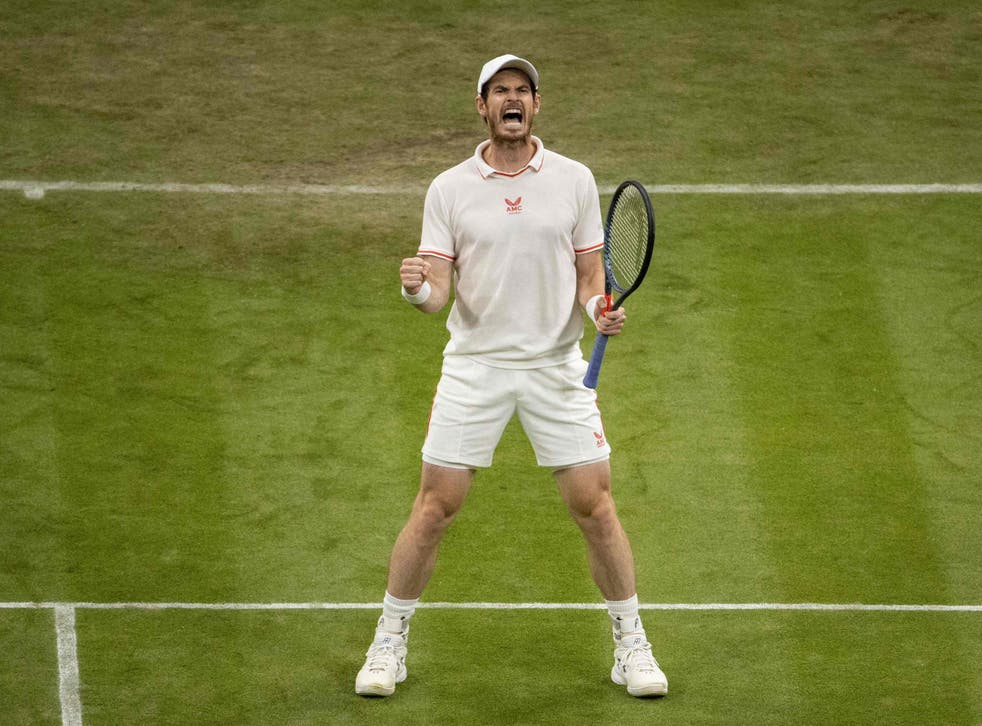 <p>Andy Murray served up another classic on Centre Court</p>